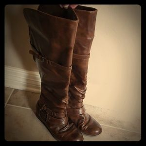 Brown Tall Boots